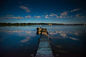 Photo Of The Day-Midnight At Shady Shore On Moose Lake Minnesota